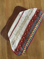 Moda In Pelle Summer Holiday Wooden Clasp Retro Clutch Bag Boho Bloggers Beads