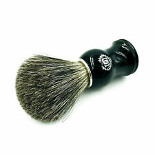 NEW 100% BADGER HAIR SHAVING BRUSH FOR HIM MAN HAND MADE IN USA FREE SHIPPING