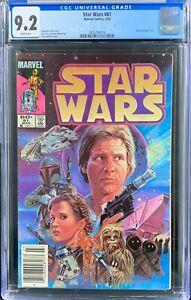 Star Wars Vol. 1 (19849) Marvel Comics CGC 9.2 Return Of Boba Fett