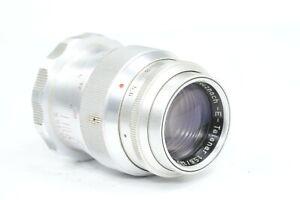 RARE Roeschlein - Kreuznach E-Telenar 135mm f/5.6 lens,  M39 screw Paxette mount