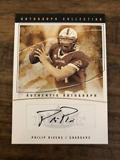 2004 Fleer Flair Philip Rivers Autograph RC #d 186/350 Auto Chargers Rookie Card