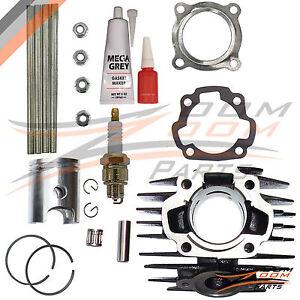 YAMAHA PW 80 PW80 BW 80 Cylinder Block Gasket Piston Ring Kit Set 1983-2006