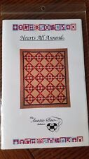 ~Hearts All Around~ Quilt Pattern by Auntie Boo Collection 70 x 85