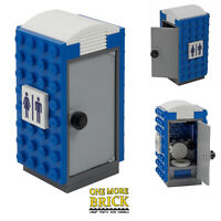 Portable Loo - Mobile Toilet - Lego CITY - printed pieces | All parts LEGO