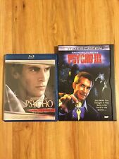American Psycho Blu-ray And Psycho 3 Iii Dvd - Great Condition.