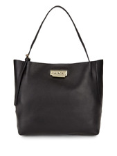 New Authentic ZAC Zac Posen Eartha Relaxed Leather Shopper Tote Bag $495