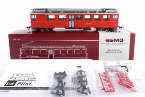 """Bemo digital H0m 1366 117 Bernina Triebwagen ABe 4/4 47 RhB - Unbespielt """"11231"""