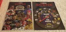 """Lot 2 Nascar Magnets 2004 Nextel Cup Series 2005 The Chase Race Car 11 1/2"""" x 8"""""""