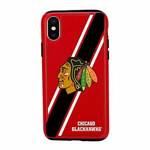 iPhone Xs MAX - CHICAGO BLACKHAWKS Dual Hybrid Impact Series Case