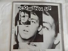 "Paul McCartney & Wings ""Coming Up"" PICTURE SLEEVE ONLY!! MINT!! NEW!!"