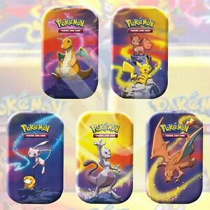 Pokemon TCG: KANTO POWER Mini Tin SET OF 5 | FACTORY SEALED Collection Charizard