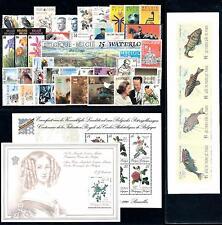 Belgium 1990 Complete Year Set incl.  2 souv. Sheets / 1 carnet MNH