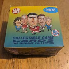 More details for sealed 1996 promatch football collectable game cards box