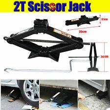 2 Ton Scissor Jack With Speed Handle Fit For Truck Car VAN Garage Home Emergency