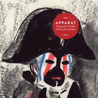 """Apparat : Krieg Und Frieden (Music for Theatre) Vinyl 12"""" Album with CD 2 discs"""
