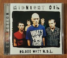 MIDNIGHT OIL - 20,000 Watt R.S.L. CD 1997