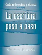 Cuaderno de estudio y referencia for La escritura paso a paso by Lapuerta, Palo