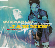 Bob Marley & MC LYTE Jammin 3 REMIXES & EDIT Europe CD Single  SEALED USA Seller