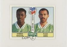 1994 Panini World Cup Album Stickers Ahmed Madani Fuad Amin #438