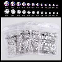 1440 Stück St. Nail Art Strass Glitzer Diamant Edelsteine 3D Spitzen Diy Great