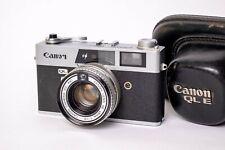 Canon QL19e with case