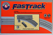 LIONEL FASTRACK 036 REMOTE/COMMAND SWITCH RIGHT HAND o gauge train 6-81946 NEW