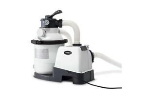 New Genuine Intex SAND FILTER & PUMP Combo for Above Ground Pool 26644