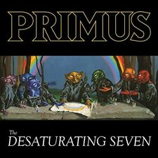 Primus Desaturating Seven Coloured Vinyl LP NEW sealed