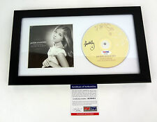 JACKIE EVANCHO SIGNED SONGS FROM THE SILVER SCREEN FRAMED CD PSA/DNA COA