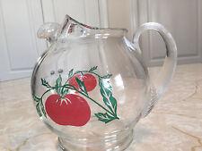 Vintage Glass Tomato Juice Pitcher - Excellent! 3045+ Feedback