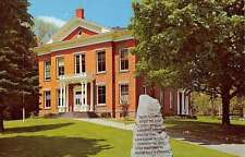 Great Barrington Massachusetts Court House Street View Vintage Postcard K33580