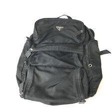 PRADA nylon backpack black used 1129-9.D