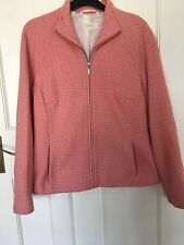 Marks and Spencer Pink Wool Jacket size 12