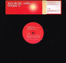 "JEAN MICHEL JARRE Oxygene 10 Remixed 12"" PROMO VINYL Apollo 440 EPIC XPR 3145"
