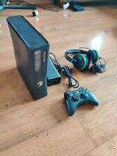 Xbox 360 S with 500gb hard drive, controller and headset - tested working!