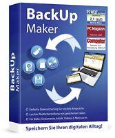 Backup Maker - Datensicherung für höchste Ansprüche - Download Version