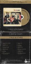 "CD CARDSLEEVE CÉLINE DION 1 FILLE & 4 TYPES (GOLDMAN) ""LES DISQUES D'OR"" 2014"