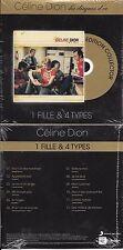 """CD CARDSLEEVE CÉLINE DION 1 FILLE & 4 TYPES (GOLDMAN) """"LES DISQUES D'OR"""" 2014"""