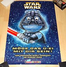 STAR WARS FERRERO Happy Hippo Promo Poster - original Poster - RARE