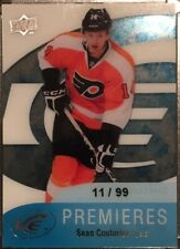 11-12 UD UPPER DECK ICE ROOKIE SEAN COUTURIER /99 #104 RC