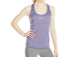NWT Zoot Active Wear Run Sunset Singlet Tank Top in Deep Purple Heather Size XL
