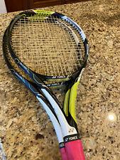 2 Yonex E Zone AI Lite Tennis Rackets.  Size 0.