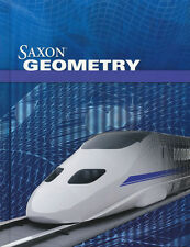 Saxon Highschool Geometry Complete Homeschool Home Study Kit Grade 8-12 New!