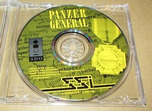 Panzer General (Game Only) Panasonic 3DO Fast Shipping