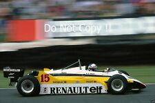 Alain Prost Renault RE30B British Grand Prix 1982 Photograph