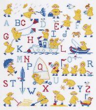 New Baby Alphabet Cross Stitch Kit by DMC - The Yellow Coats Sampler - Children