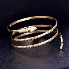 Coiled Snake Spiral Upper Arm Cuff Armlet Armband Bangle Bracelet Anklet 2 Color