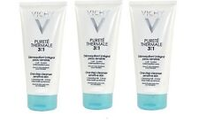 Vichy PURETE THERMALE 3 in 1 One Step Cleanser Sensitive Skin 100ml X 3, Sealed