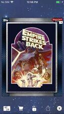 Topps Star Wars Digital Card Trader Blue Glass Posters 2 - Wave 5 Insert Award
