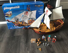 Playmobil Red Serpent Pirate Ship 5678 With Figures And Accessories